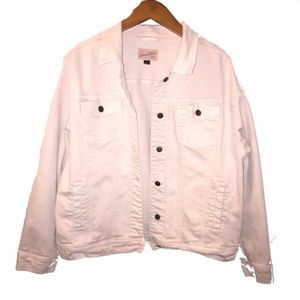 Universal Thread | muted pink denim jacket